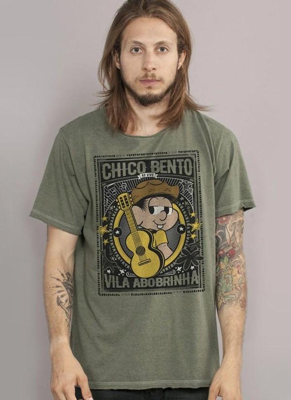 Camiseta Chico Bento Vila Abobrinha