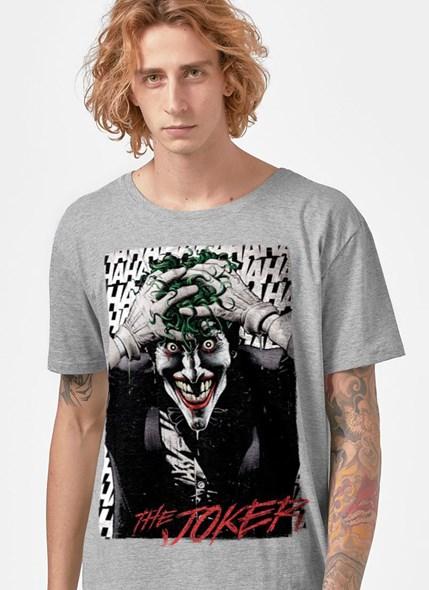 Camiseta Coringa A Piada Mortal Mescla