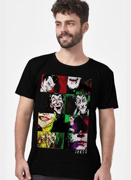 Camiseta Coringa Quadros