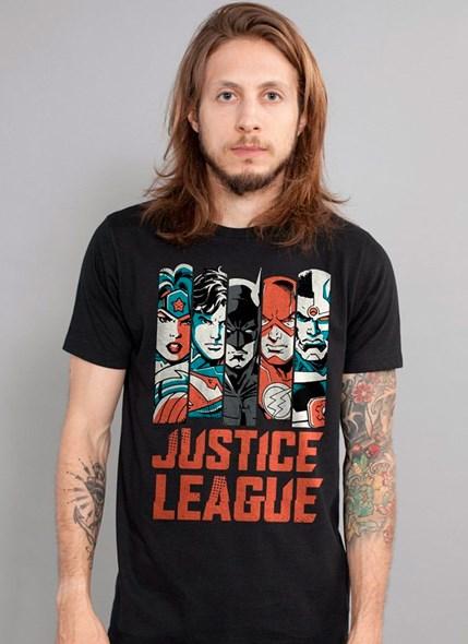 Camiseta DC Comics Justice League