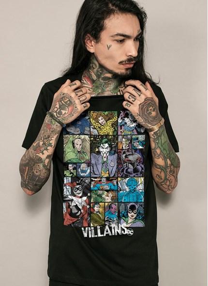 Camiseta DC Comics Villains