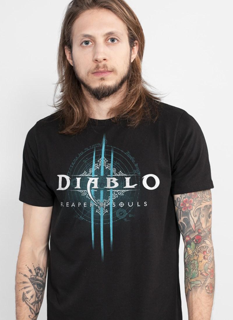 Camiseta Diablo III Reaper of Souls