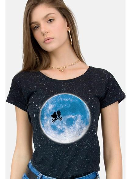 Camiseta E.T. And The Moon Botonê