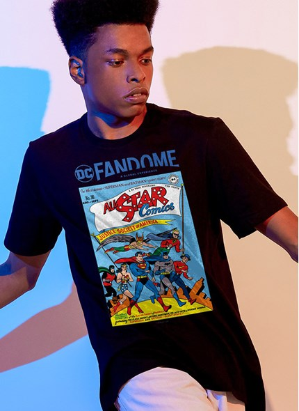 Camiseta Fandome All Star Comics