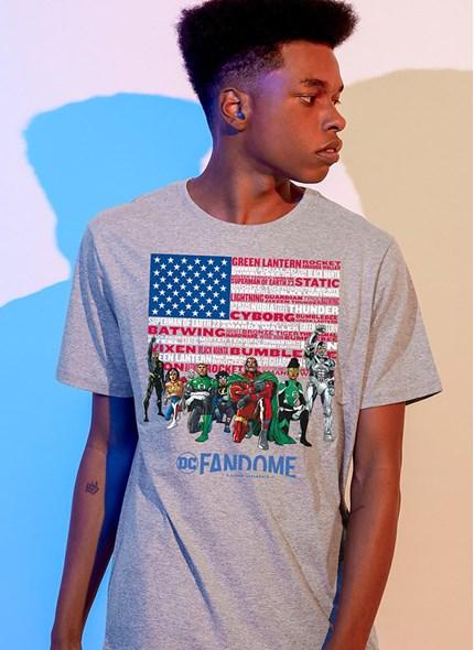 Camiseta Fandome Black Heroes