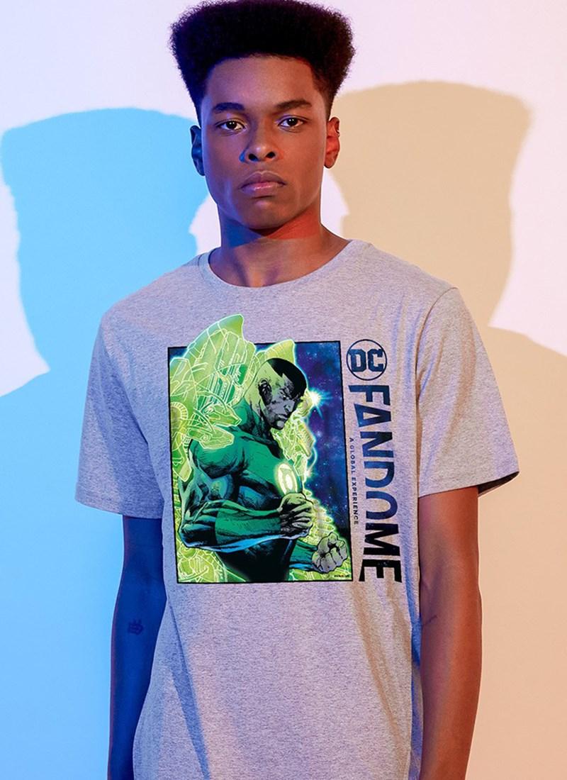 Camiseta Fandome Lanterna Verde