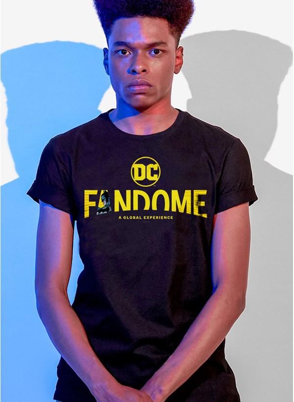 Camiseta Fandome Logo Batman