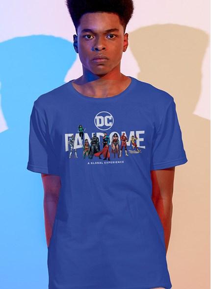 Camiseta Fandome Logo Liga da Justiça