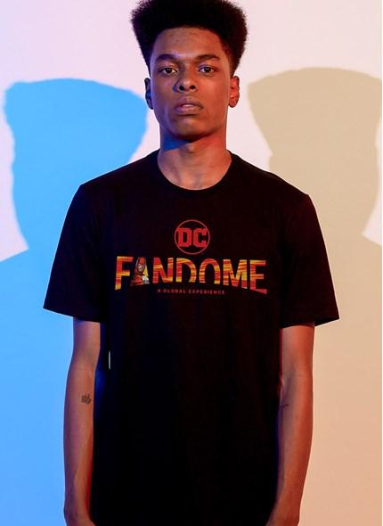 Camiseta Fandome Logo The Flash