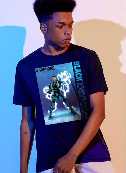 Camiseta Fandome Raio Negro