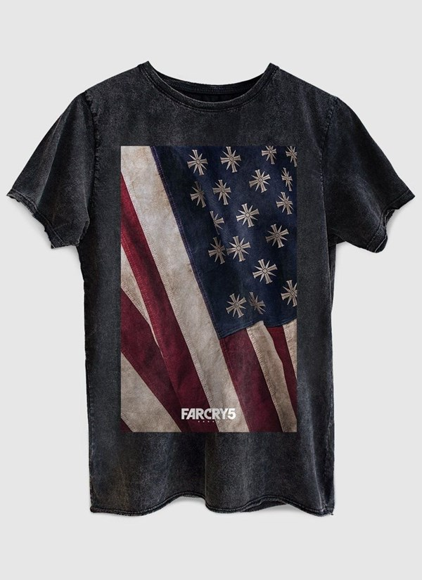 Camiseta Far Cry 5 Cult Flag