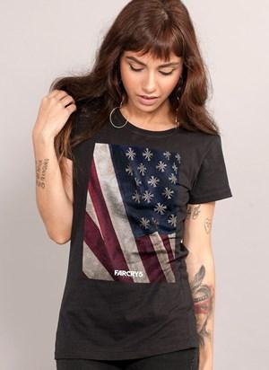 Camiseta Far Cry 5 Cult Flag Black