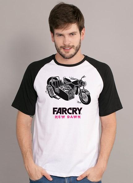 Camiseta Far Cry New Dawn Sidecar Motorbike