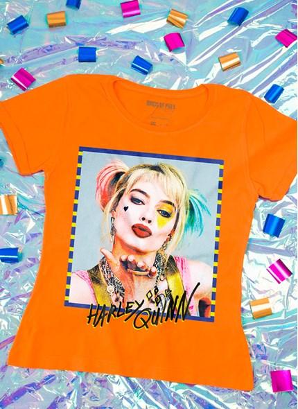 Camiseta Feminina Bids of Prey Harley Quinn