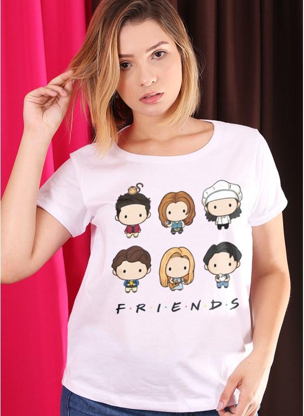 Camiseta Friends Integrantes Mini