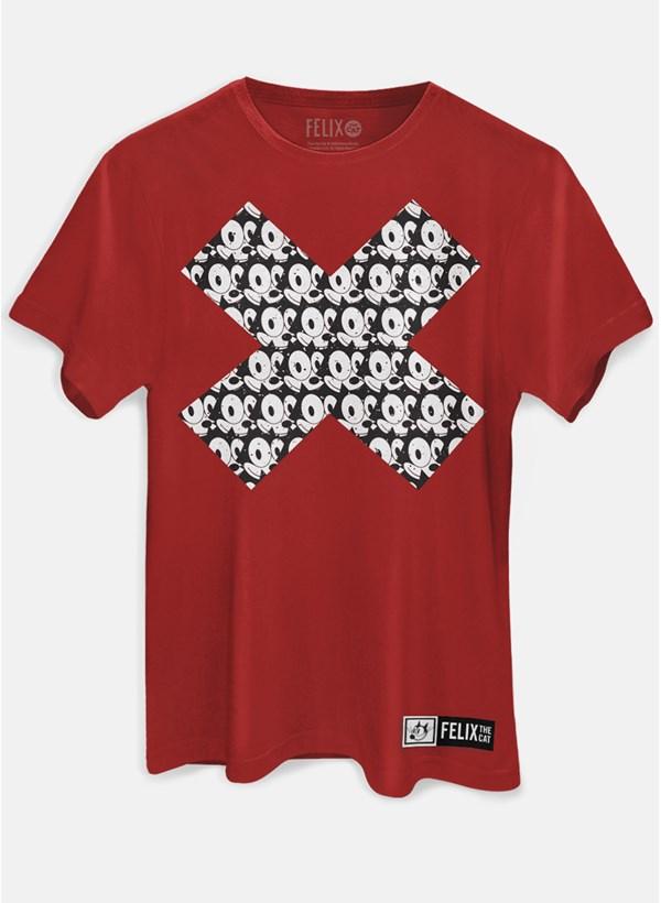Camiseta Gato Félix X