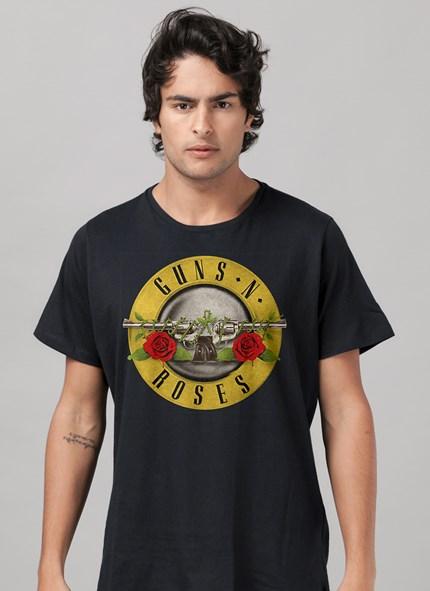 Camiseta Guns n' Roses Bullet