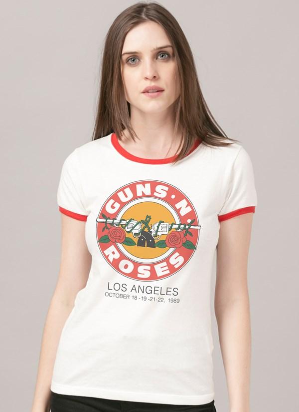 Camiseta Guns N' Roses Los Angeles