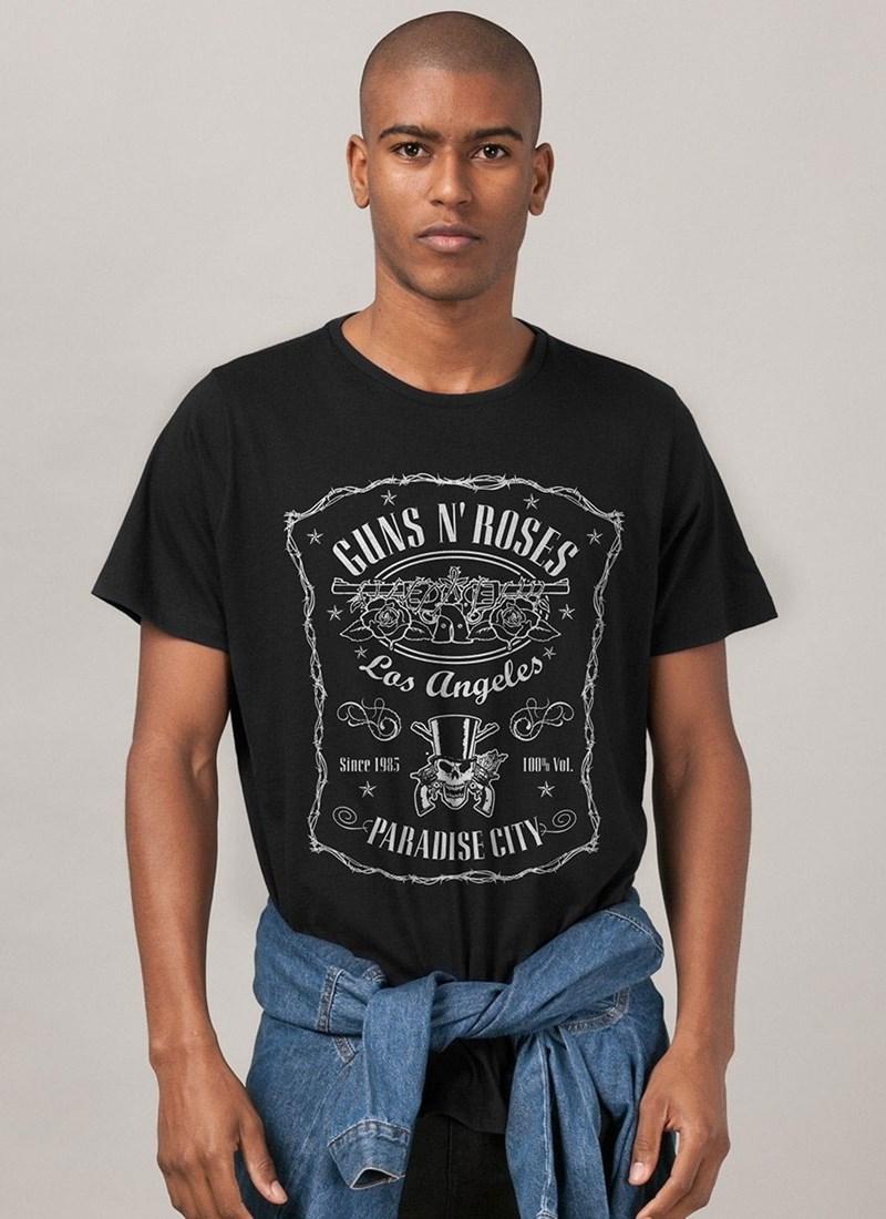 Camiseta Guns n' Roses Paradise City
