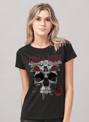 Camiseta Guns n' Roses Skull