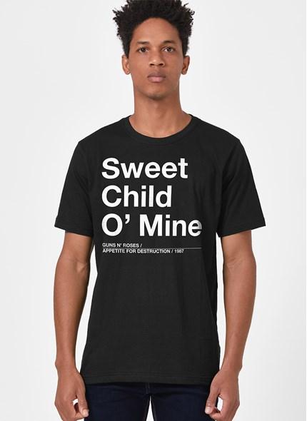 Camiseta Guns N' Roses Sweet Child O' Mine
