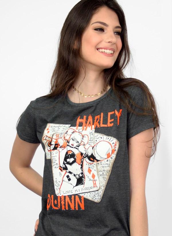Camiseta Harley Quinn Cards