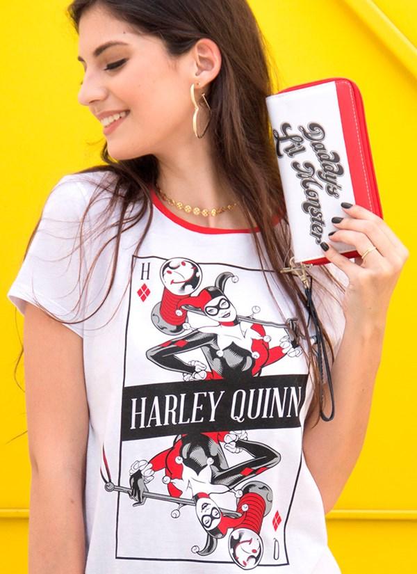 Camiseta Harley Quinn Danger Card