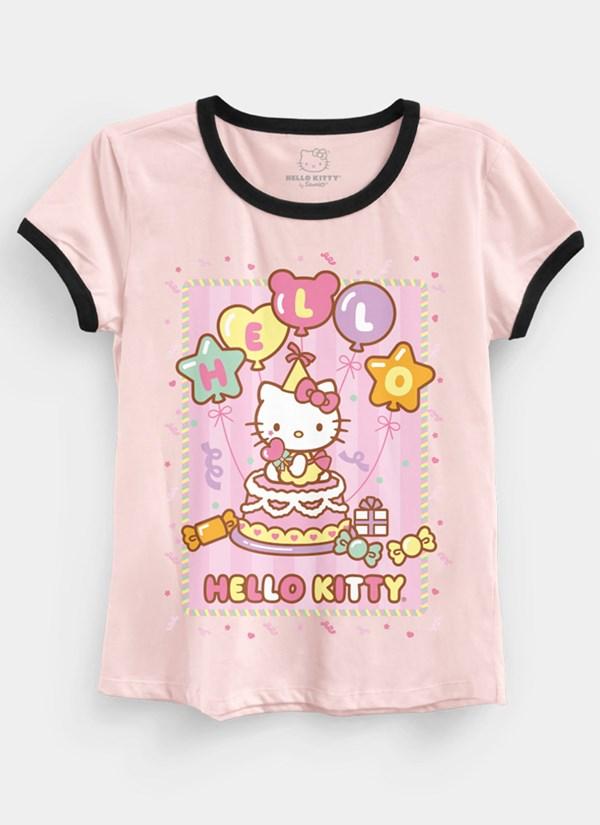 Camiseta Hello Kitty Birthday Cake