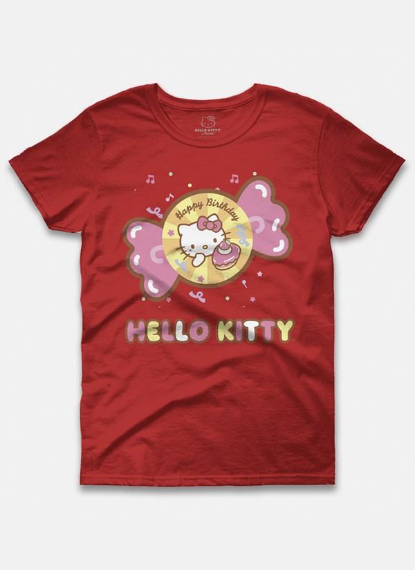 Camiseta Hello Kitty Birthday Candies