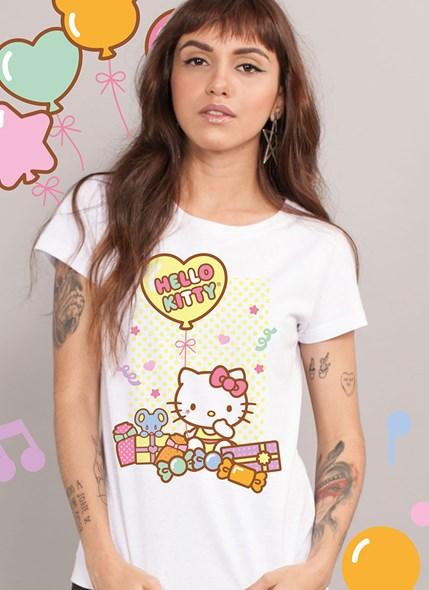 Camiseta Hello Kitty Birthday Gifts
