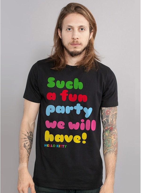 Camiseta Hello Kitty Fun Party