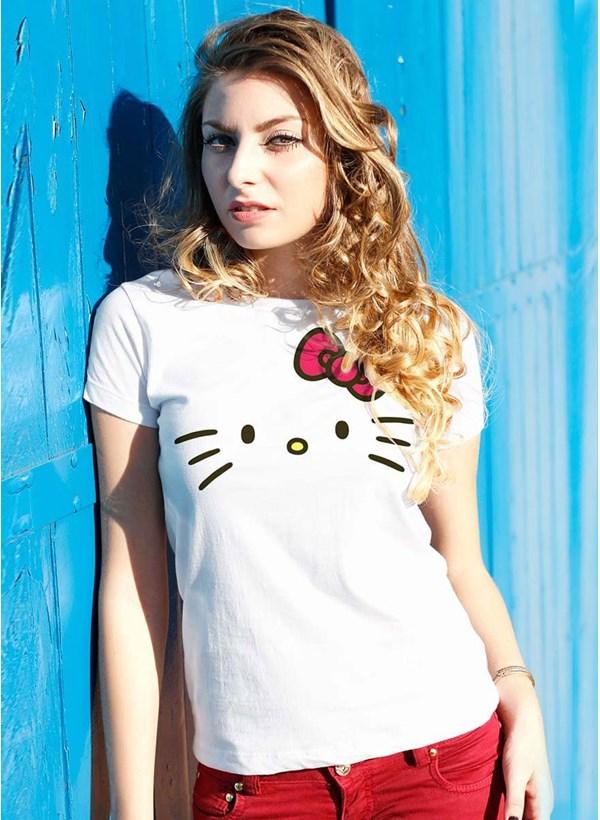 Camiseta Hello Kitty White