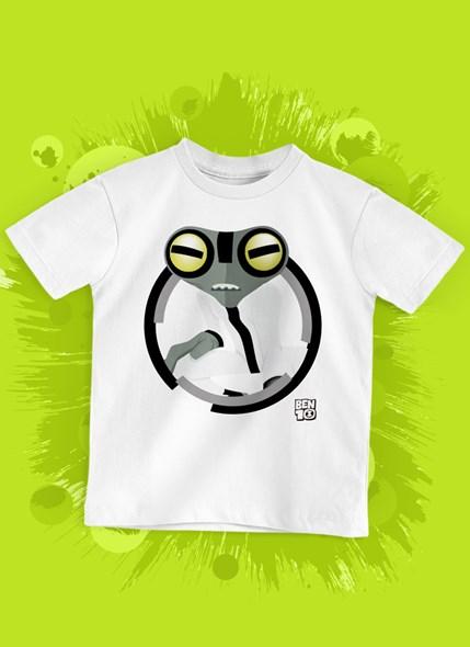 Camiseta Infantil Ben 10 Massa Cinzenta