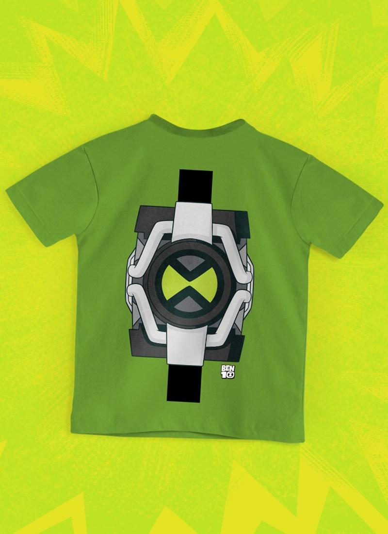 Camiseta Infantil Ben 10 Omnitrix