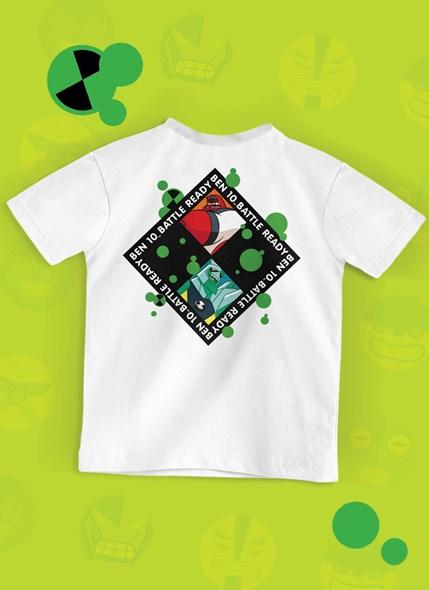 Camiseta Infantil Ben 10 Omnitrix Activate