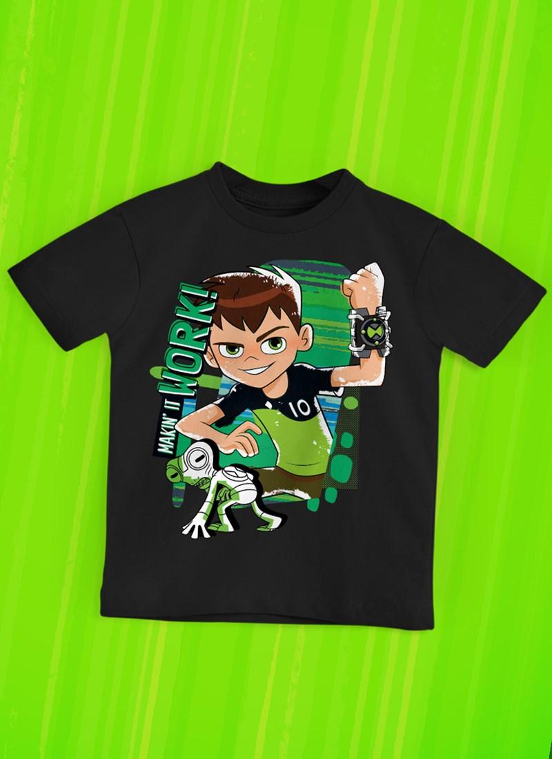 Camiseta Infantil Ben 10 Work