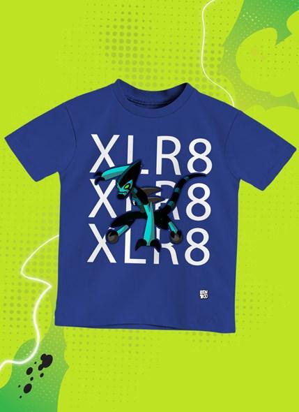 Camiseta Infantil Ben 10 XLR8