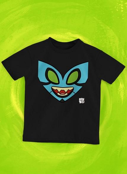 Camiseta Infantil Ben 10 XLR8 Face