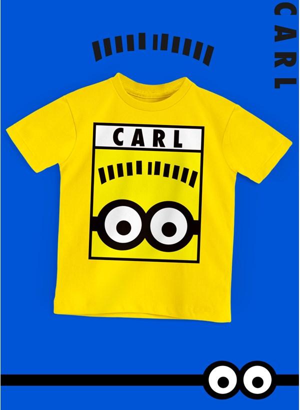 Camiseta Infantil Minions Carl