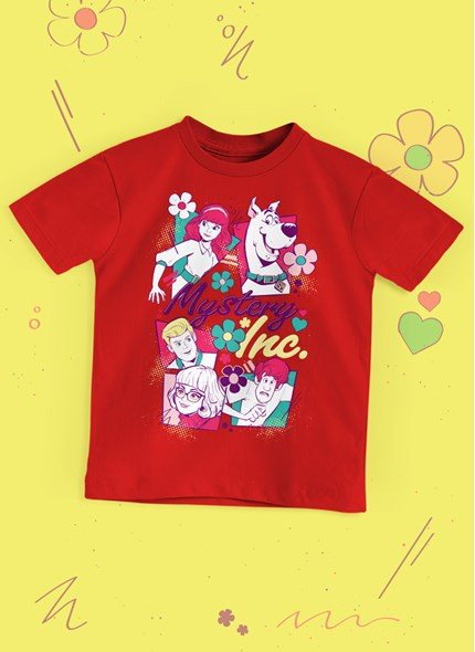 Camiseta Infantil Scooby! Mistery In.