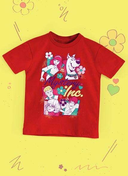 Camiseta Infantil Scooby! Mistery Inc.