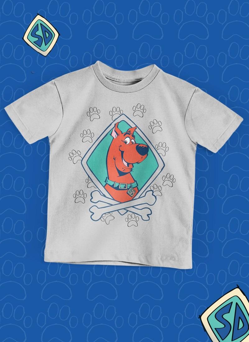 Camiseta Infantil Scooby! Patinhas