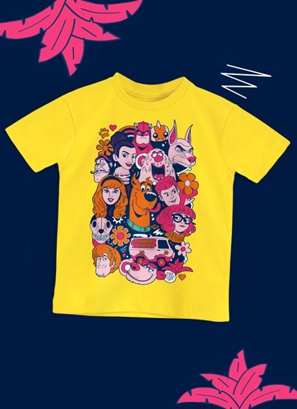 Camiseta Infantil Scooby! Personagens Tropicais