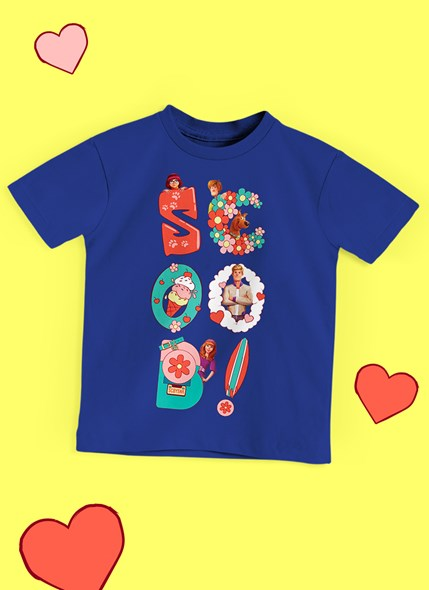 Camiseta Infantil Scooby! Pop
