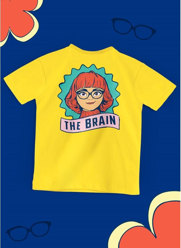 Camiseta Infantil Scooby! Velma The Brain