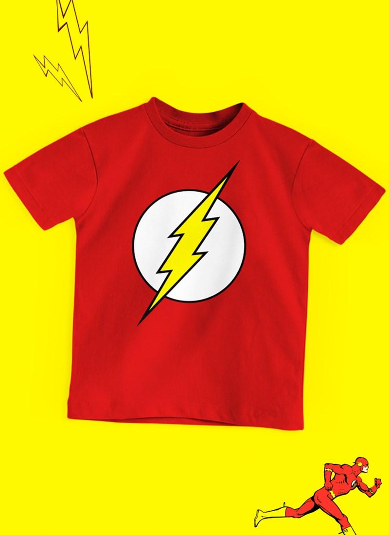 Camiseta Infantil The Flash Logo