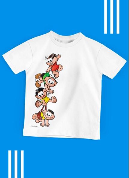 Camiseta Infantil Turma da Mônica A Turma