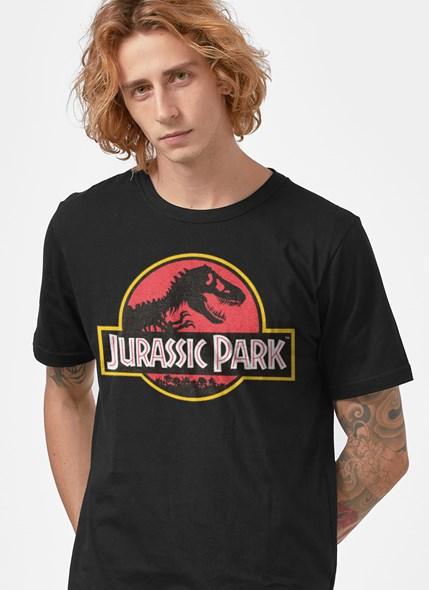 Camiseta Jurassic Park Logo