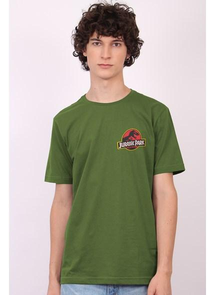 Camiseta Jurassic Park Mini Logo