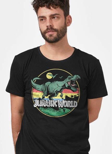 Camiseta Jurassic Park T.Rex Vintage